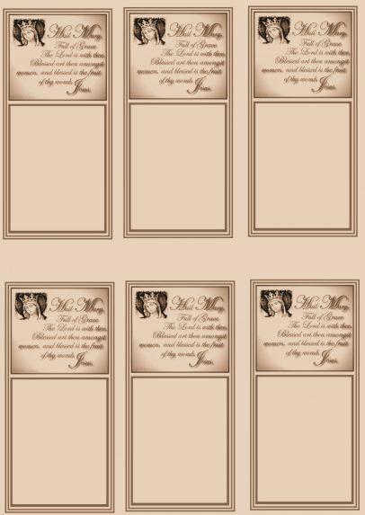 Prayer Card Sheets | Bringing Catholics and non-Catholics together!
