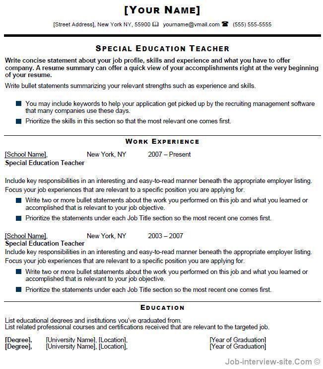 Download Effective Resume | haadyaooverbayresort.com