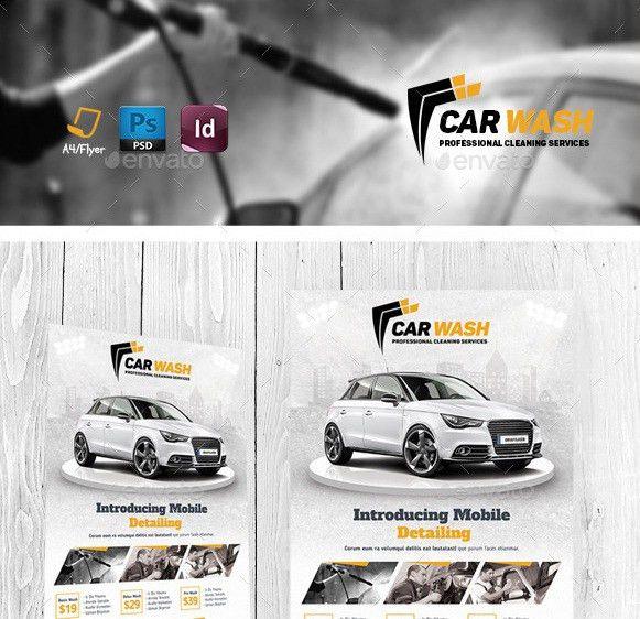 20 Cool Automotive Flyer Templates