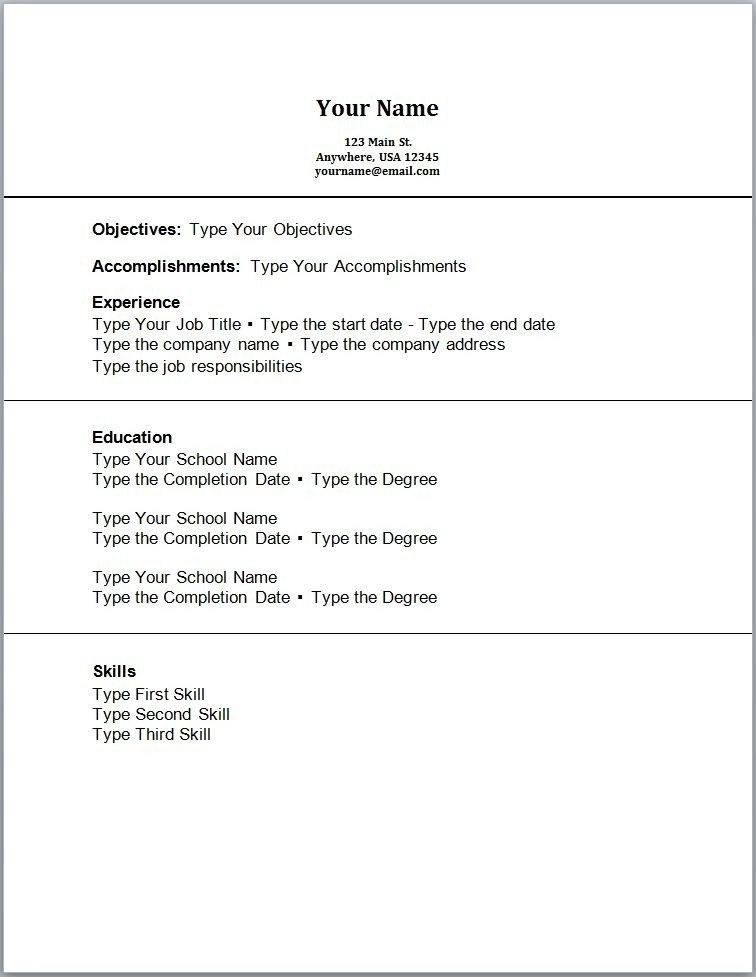 Examples Of Student Resumes With No Experience. sample resume for ...