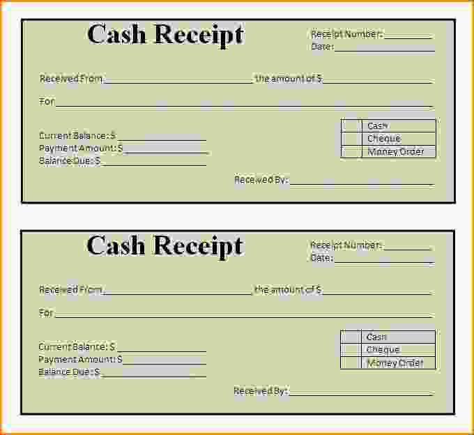Rent Receipts Format.rent Receipt Template.gif - Loan Application Form