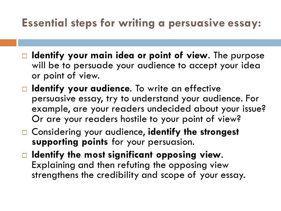 How to Write a Persuasive Essay With [Free Examples]