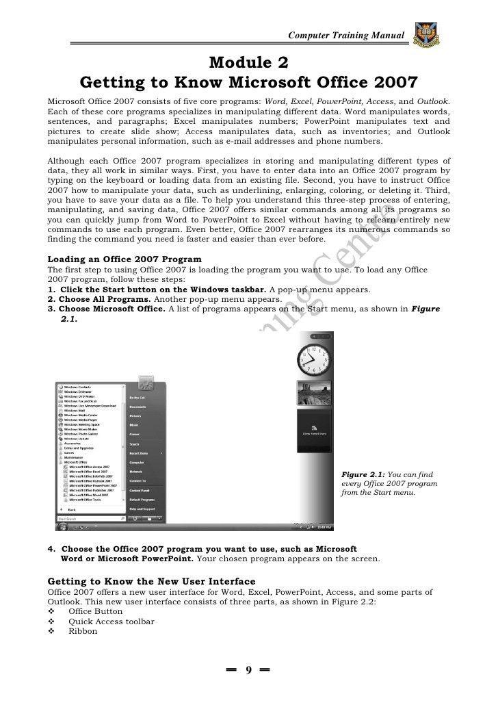 Dlc computer manual