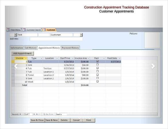18+ Free Access Database Template | Free & Premium Templates
