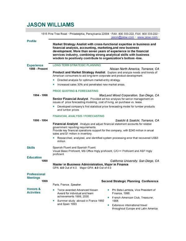 cv resume sample free cv template curriculum vitae template and