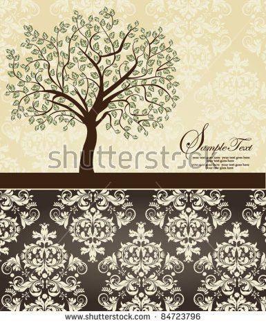 Family Reunion Invitation Card Stock Vector 133145675 - Shutterstock