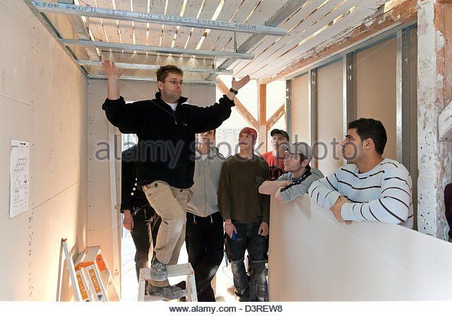 Drywall Course Stock Photos & Drywall Course Stock Images - Alamy