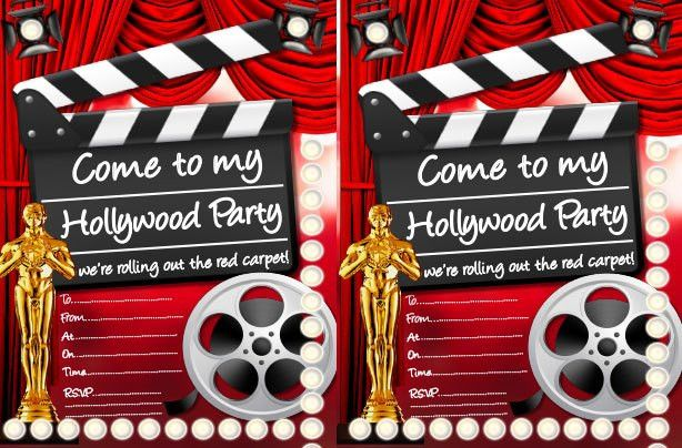 Hollywood party ideas - goodtoknow