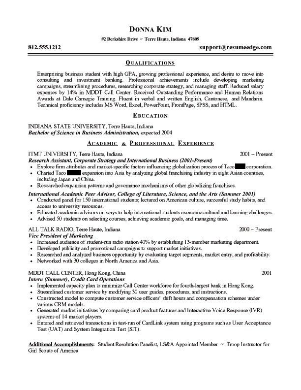 business owner resume 14 sample. business resume examples 11 ...
