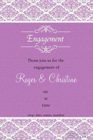 14 best Engagement Invitations images on Pinterest