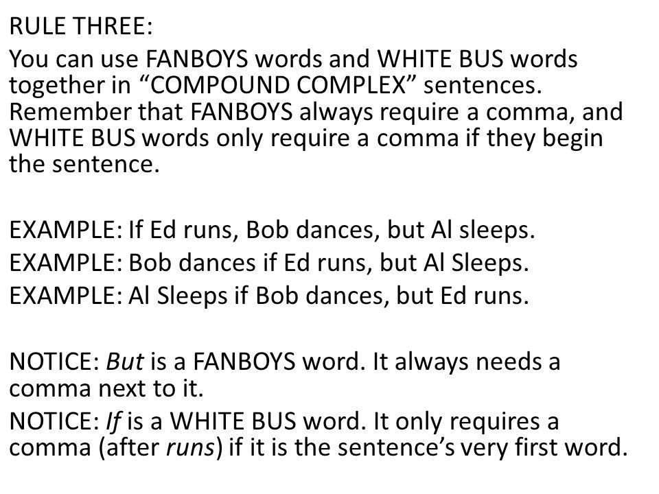 COMPLEX and COMPOUND- COMPLEX SENTENCES Notes and Exercises. - ppt ...