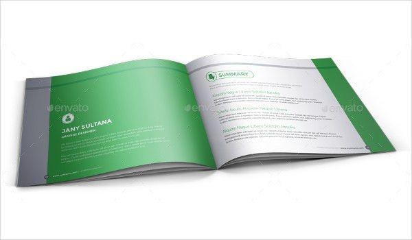 16+ Professional Booklet Design Examples | Free & Premium Templates