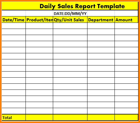 7+ daily report format in excel | quote templates
