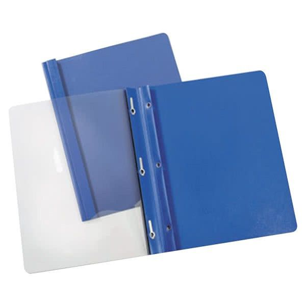 "Universal Office UNV56101 11"" x 8 1/2"" Light Blue Paper Report ..."