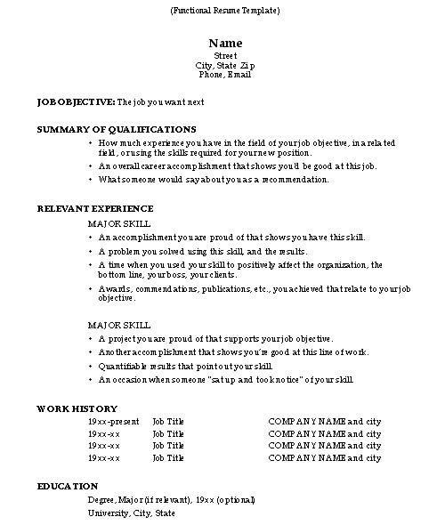 how-to-do-a-resume-2 - Resume Cv