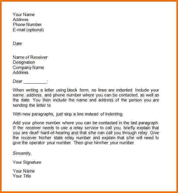 6 formal letter new format   Financial Statement Form