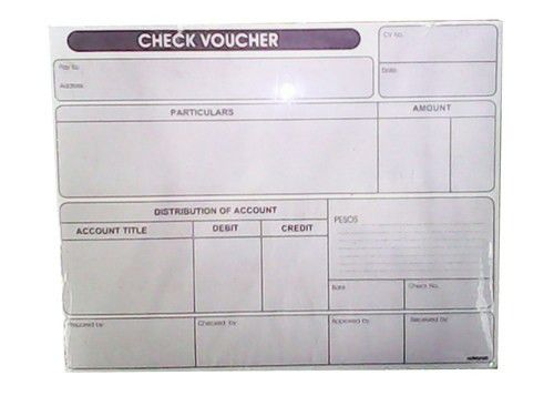 CHECK VOUCHER 2PLY - OfficeWorks Philippines