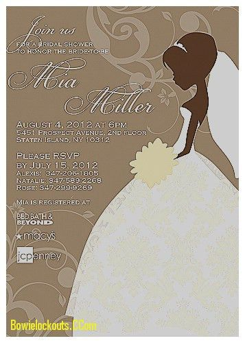 Invitation Design Ideas: Bridal Shower Invitation Cards Samples ...