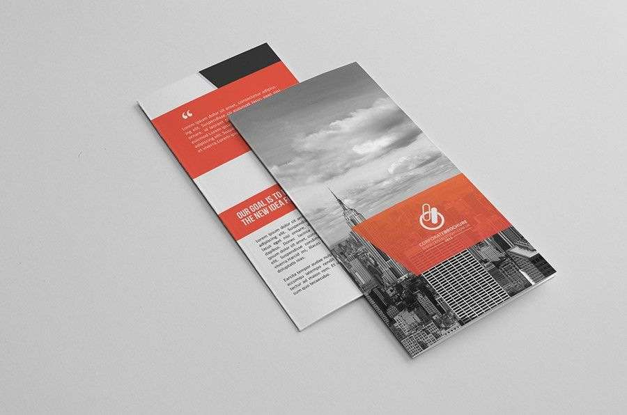Bi-fold & Tri fold Brochure Template on Behance