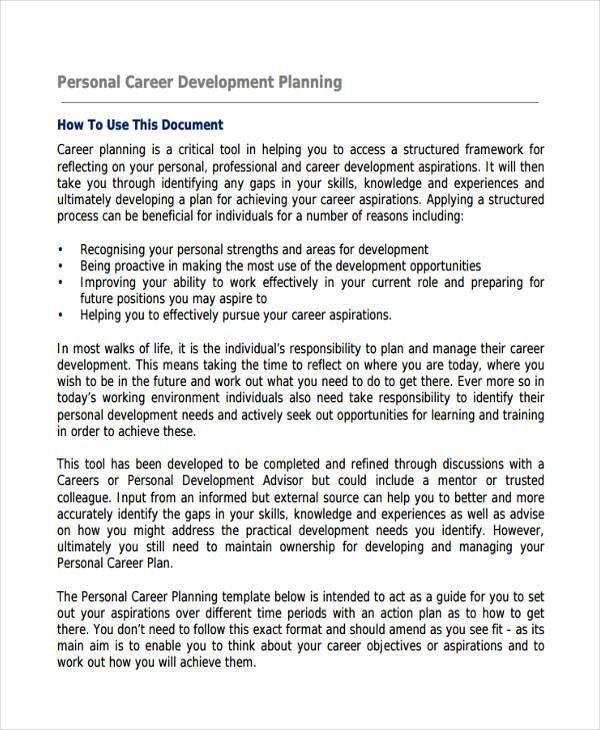 52+ Examples of Development Plans