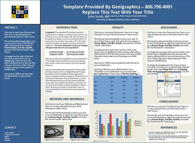 Scientific Research Poster Templates | Creative Template ...