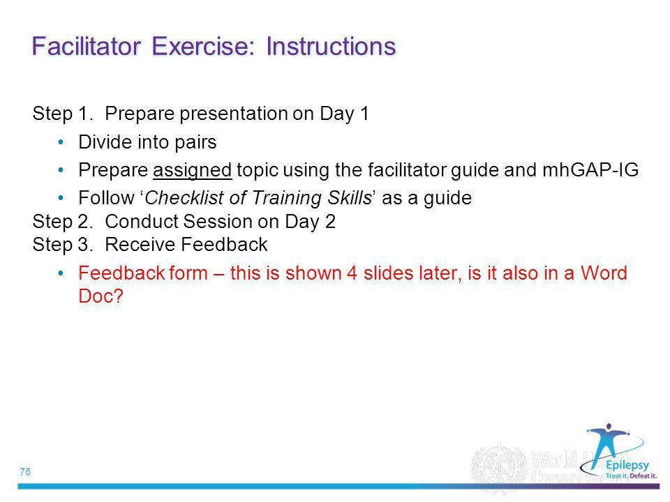 Training of Trainers and Supervisors (ToTS) EPILEPSY - ppt download
