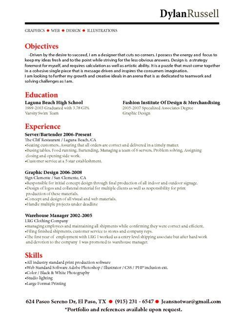 Perfect Resume Sample | Free Resumes Tips