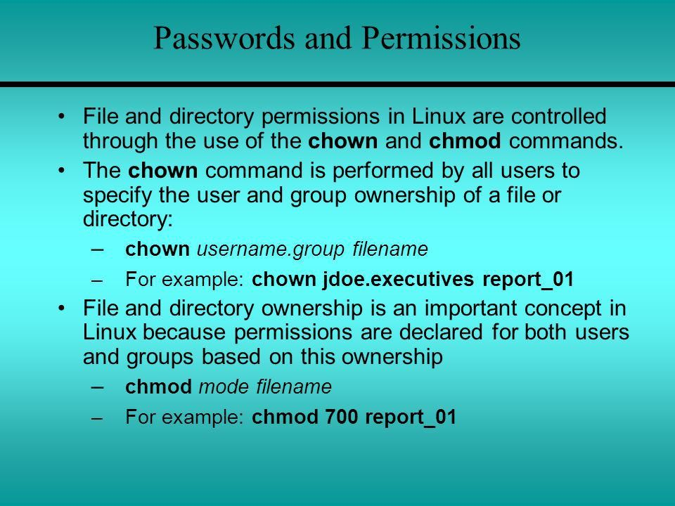 Chapter 10 Linux 10.1 User Interface Administration - ppt video ...