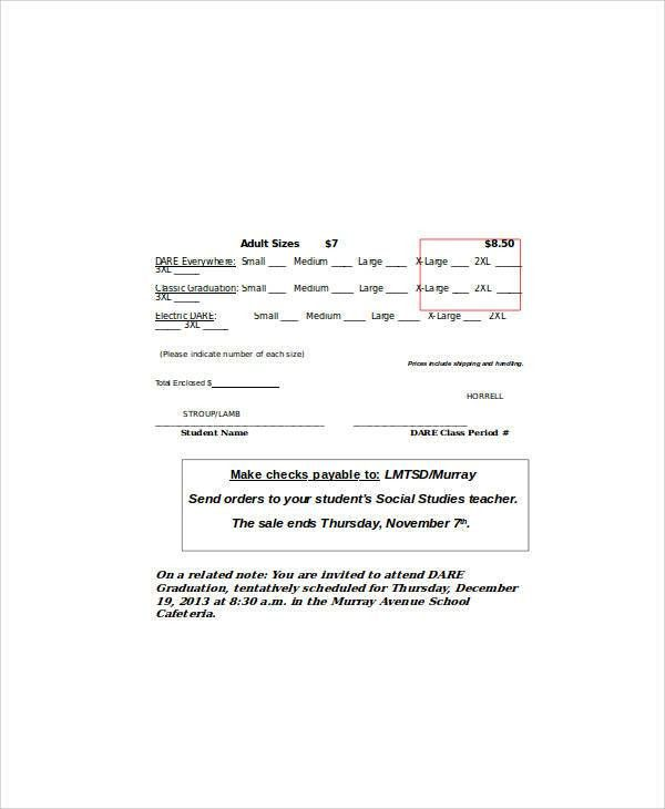 Make a custom purchase order with a template for word free downloads – Order Form in Word