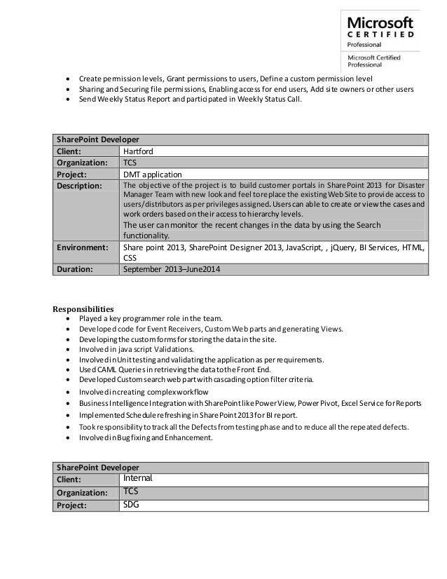 PujaKumari_Resume_SharePoint