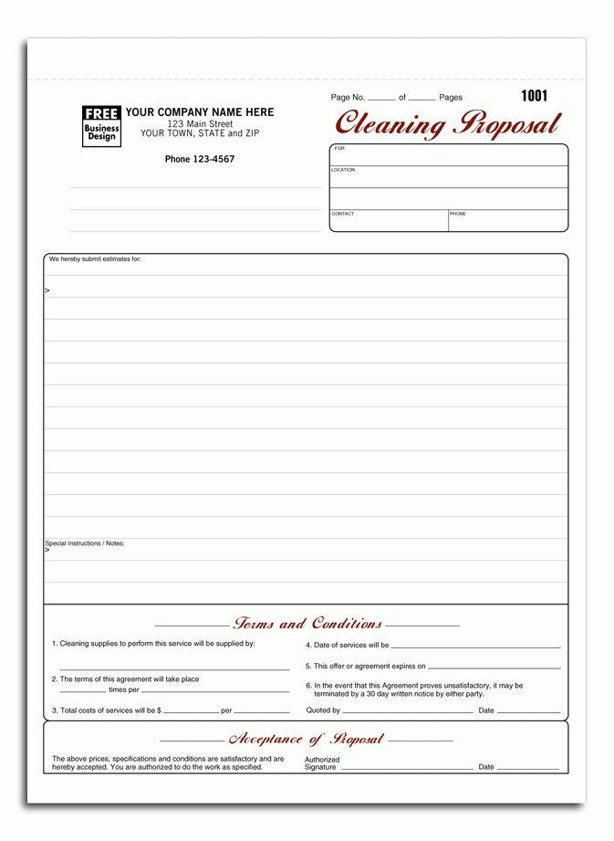Download Janitorial Invoice Template Free | rabitah.net