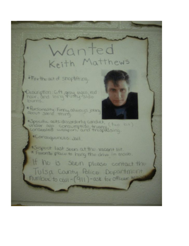 "Outsiders ""Wanted"" Poster Free Download"