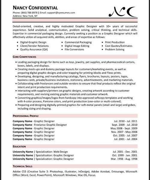 Stylish And Peaceful Formats For Resumes 15 Resume Samples ...