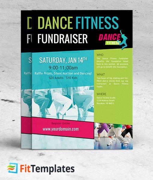 Dance Class Flyer Template