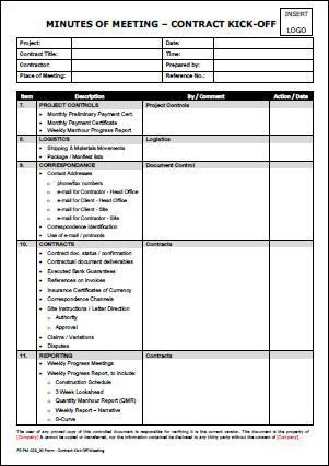 Meeting Summary Template. Excel Meeting Minutes Template Form .
