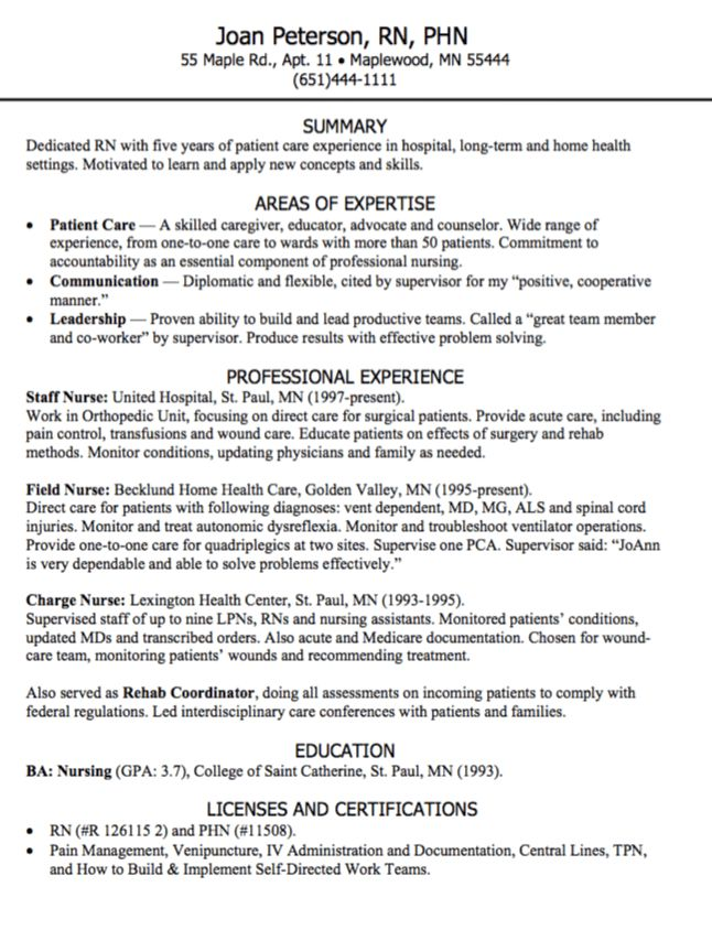 Dedicated RN resume sample - http://exampleresumecv.org/dedicated ...