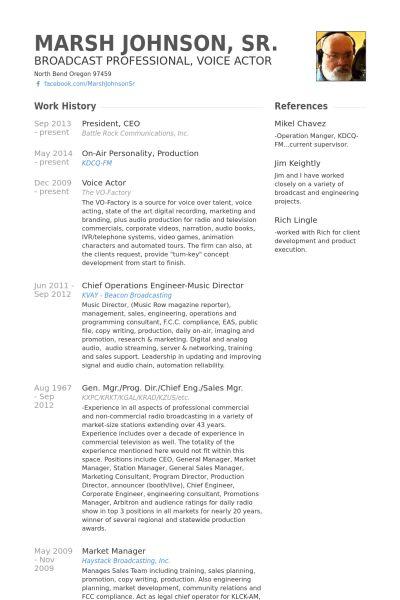 President / Ceo CV Örneği - VisualCV Özgeçmiş Örnekleri Veritabanı