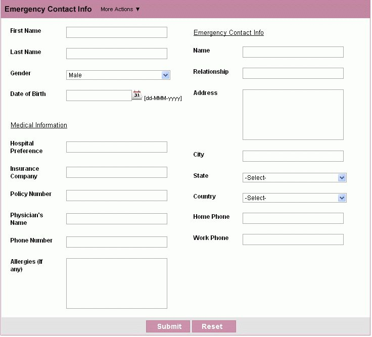 Customer Contact Form | HTML Form Builder | Free Web Form : Zoho ...