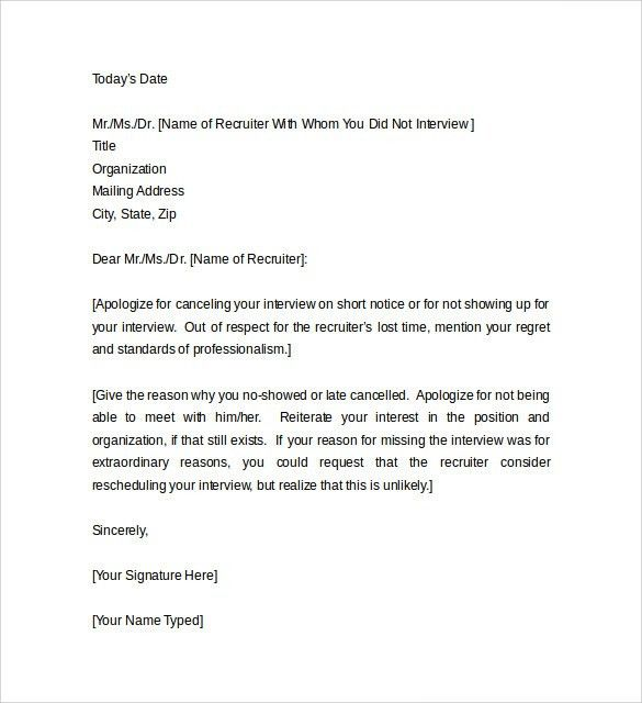Sample Apology Letter for Being Late - 8 + Free Documents to Download