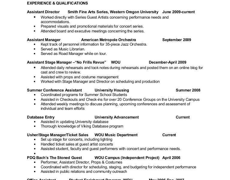 Beauteous Art Administrator Sample Resume Classy - Resume CV Cover ...
