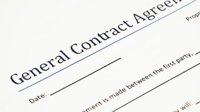 Analyzing General Contract Agreement Form. A Contract Is A ...