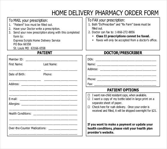 20+ Delivery Order Templates – Free Sample, Example, Format ...