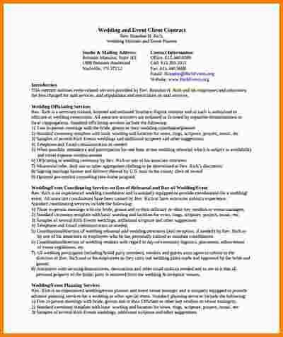 7+ event planning contract | nypd resume