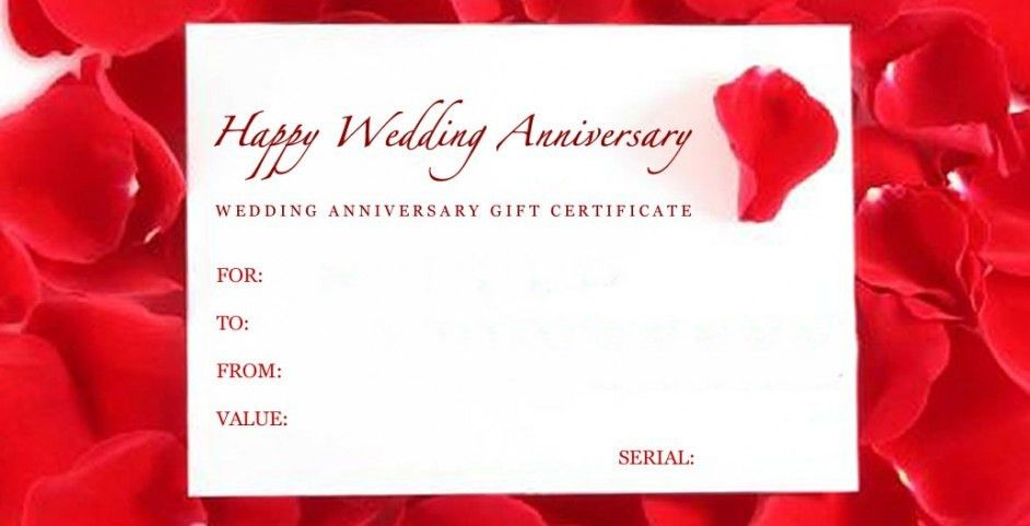 Beautiful Anniversary Certificate Template Images - Best Resume ...