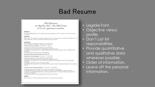 The Perfect Resume