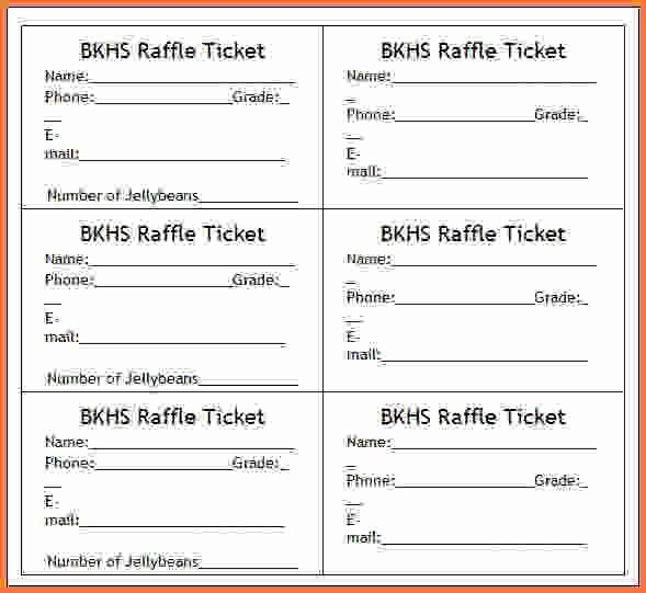 8+ raffle ticket template word - Sales Report Template