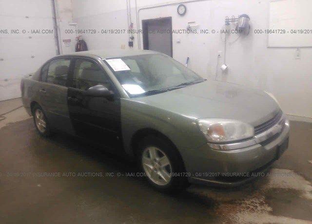 1G1ZT54865F213236, Bill Of Sale green Chevrolet Malibu at WASILLA ...