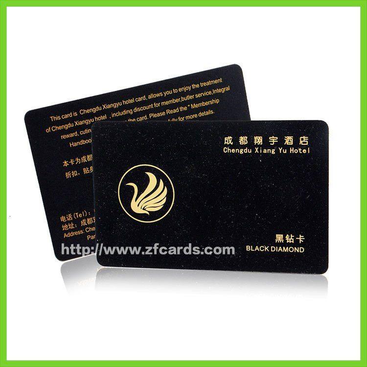 Custom Hotel Membership Card from china Membership Card factory ...