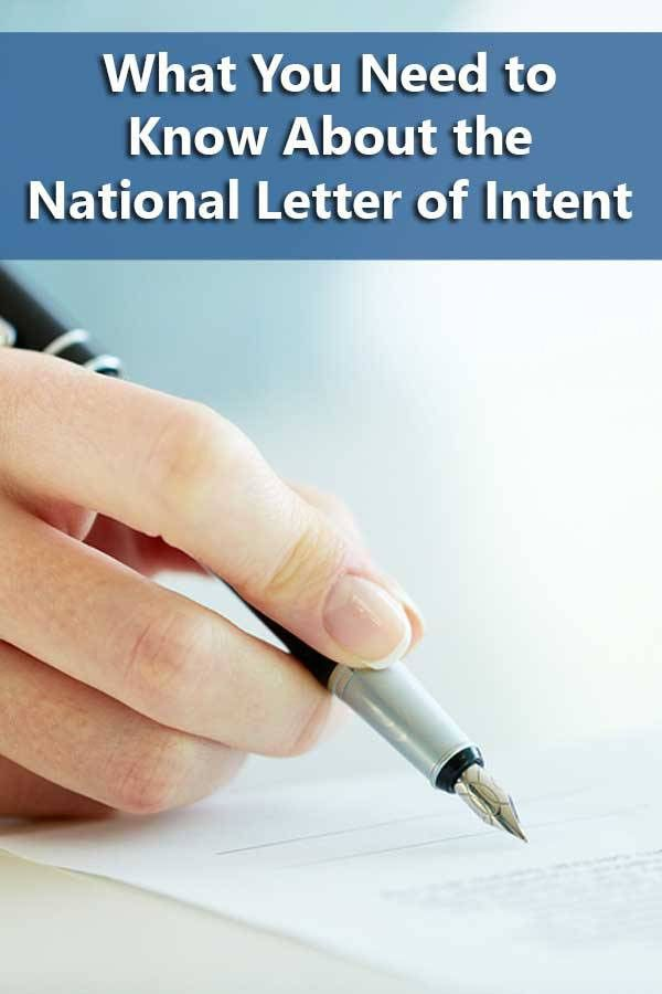 5 Ways to Get Smart About the National Letter of Intent | Do It ...