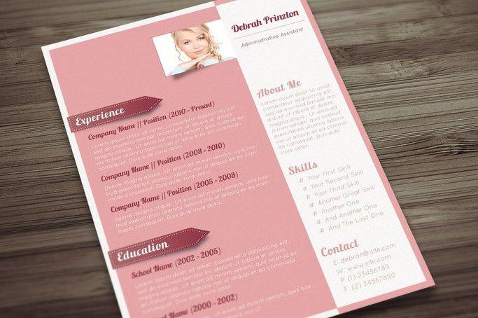 A Sophisticated CV for Ladies - Pink Lemonade